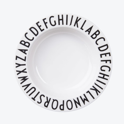Design Letters Melamine Hollow Plate-listing