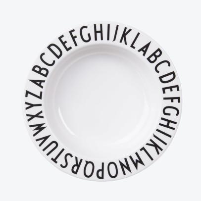 Design Letters Plato hondo de melamina-listing