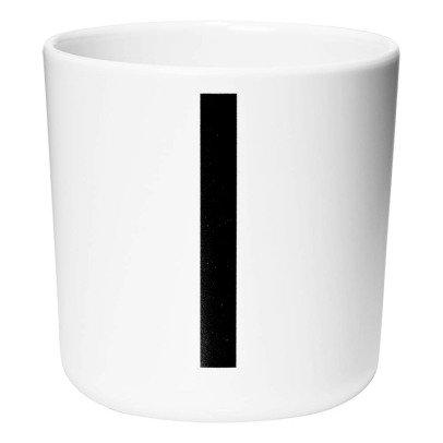 Design Letters Taza de melamina - I-listing