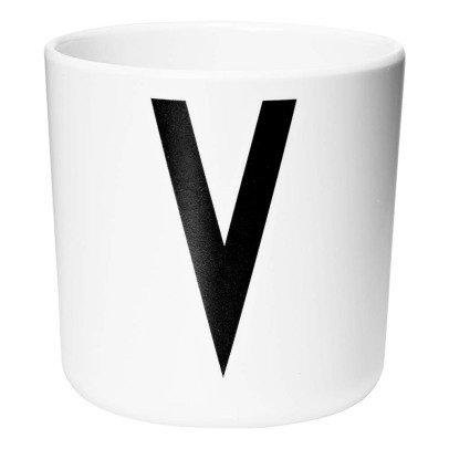Design Letters Melamine Mug - V-listing