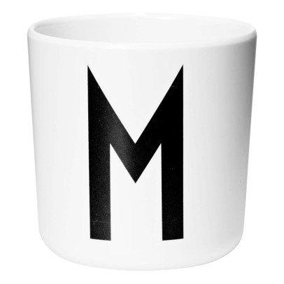 Design Letters Tasse aus Melamin - M-listing