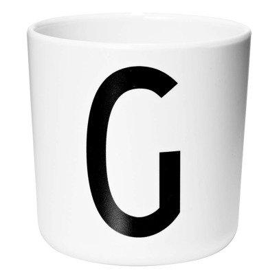 Design Letters Tasse aus Melamin - G-listing