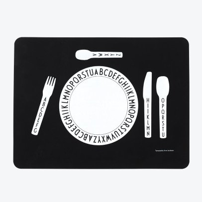 Design Letters Set da tavola in silicone-listing