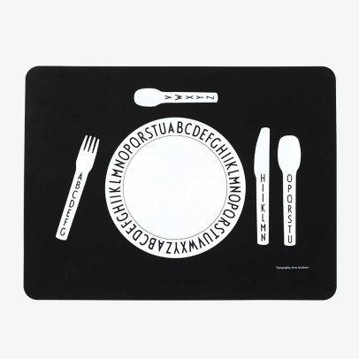 Design Letters Tischset aus Silikon -listing