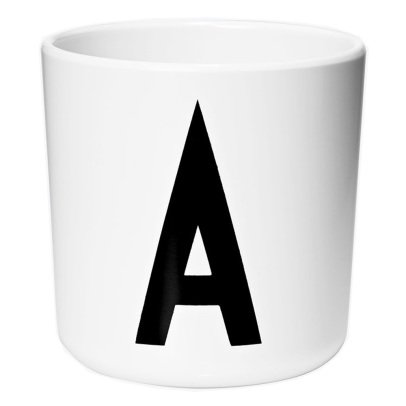 Design Letters Melamine Mug - A-listing