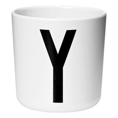 Design Letters Melamine Mug - Y-listing