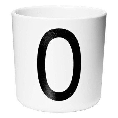Design Letters Melamine Mug - O-listing