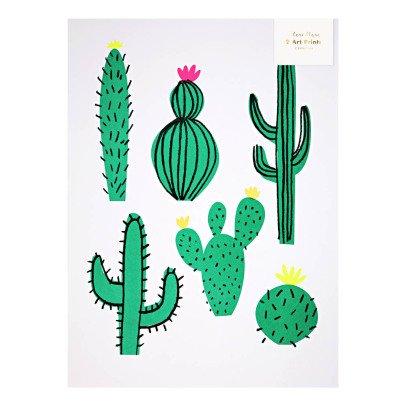 Meri Meri Affiche cactus - Set de 2-listing