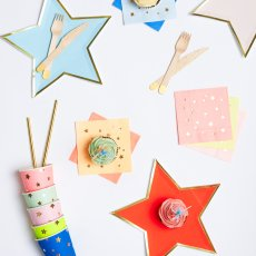 Meri Meri Jazzy Star Paper Napkins-listing