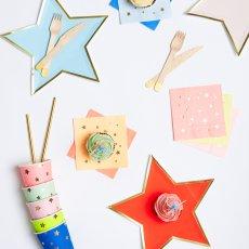 Meri Meri Serviettes  en papier Jazzy Star-listing