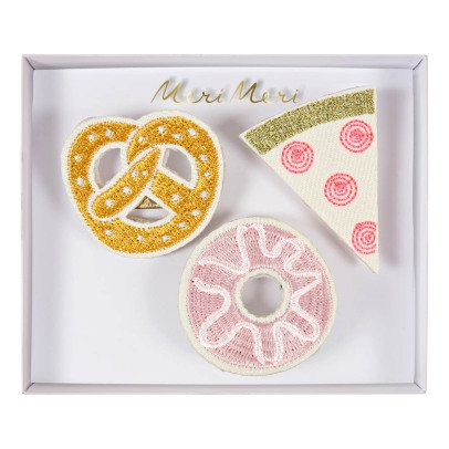 Meri Meri Snack Brooches - Set of 3-listing