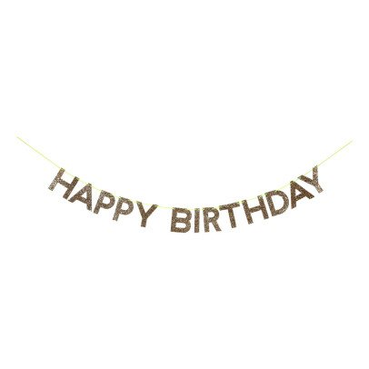 Meri Meri Girlande Happy Birthday -listing