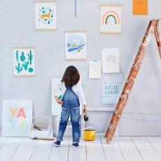 Meri Meri Bara de madera acabado para póster-listing