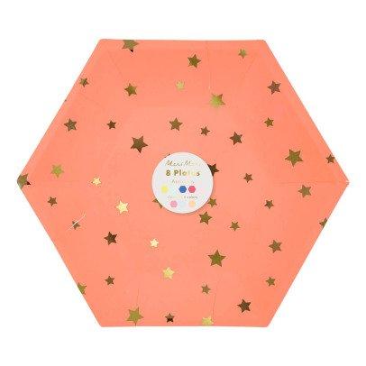 Meri Meri Jazzy Star Plates-listing