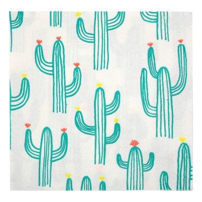 Meri Meri Fazzoletti in carta cactus-listing