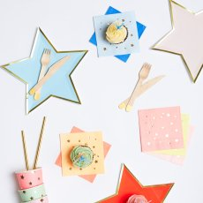 Meri Meri Jazzy Star Plates-product