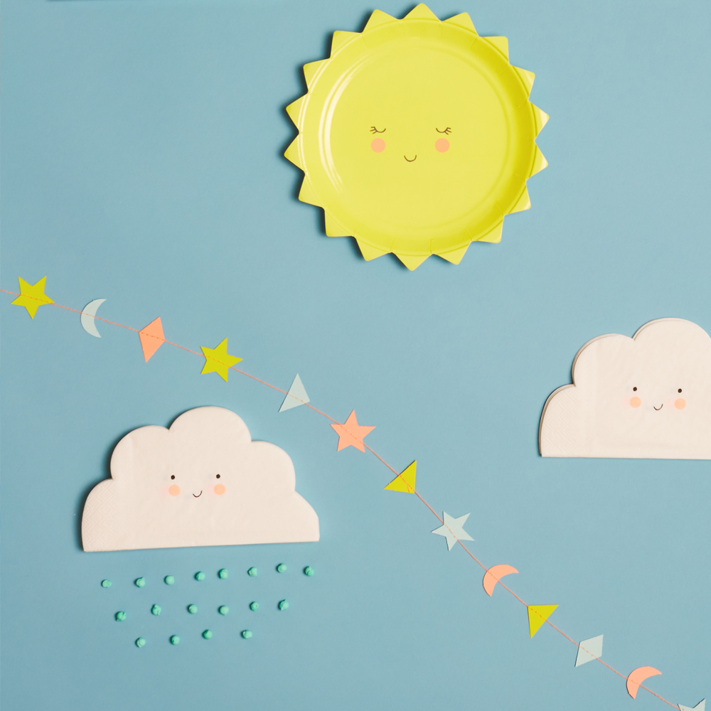 Meri Meri Servilletas de papel nube-product