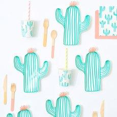Meri Meri Gobelets en carton cactus - Set de 12-listing