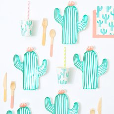 Meri Meri Vasos de cartón cactus - Set de 12-product
