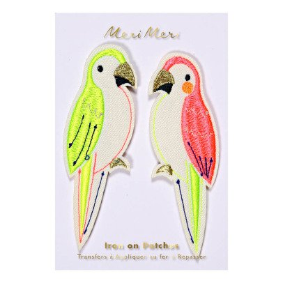 Meri Meri Parrot Patches-listing