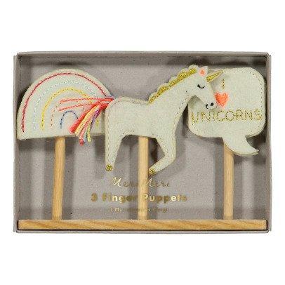 Meri Meri Marionetas para dedos unicornio-listing