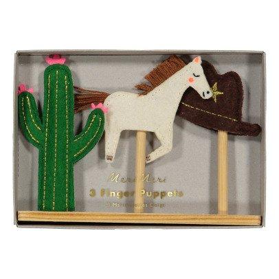 Meri Meri Marionetas para dedos Western-listing