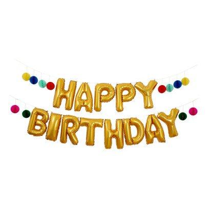 Meri Meri Ghirlanda Happy Birthday palloncini-listing