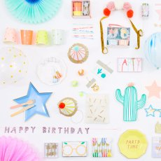 Meri Meri Mini Girlande Happy Birthday -listing