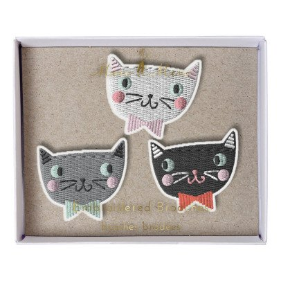 Meri Meri Cat Brooches - Set of 3-listing