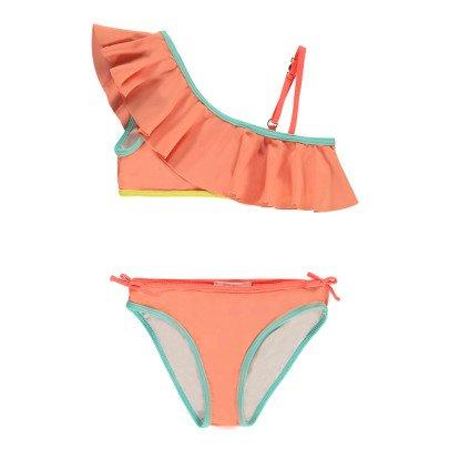 Chloé Asymetric Ruffle Bikini-listing