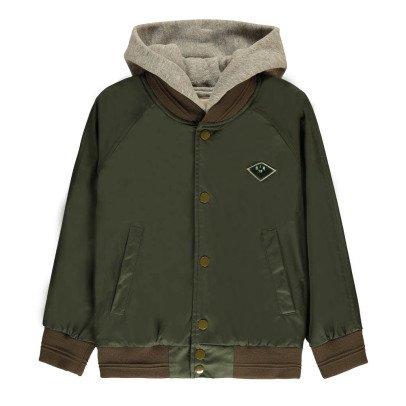 Bellerose Lupa Hooded Bomber Jacket-listing