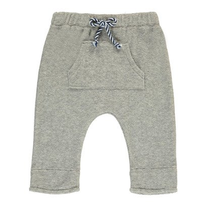 Milk on the Rocks Pepper Towelling Harem Jogging Bottoms-listing