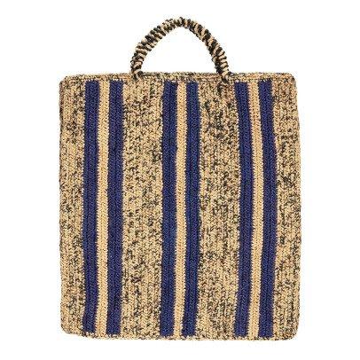 Soeur Friday Striped Raffia Bag-listing