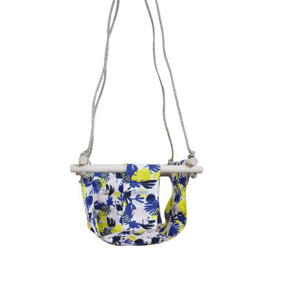 April Eleven Floral Cotton Swing-listing