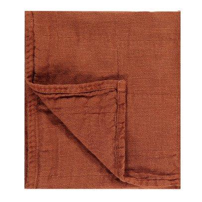 Whole Serviette tissée en coton et lin Woti 65x80 cm-listing