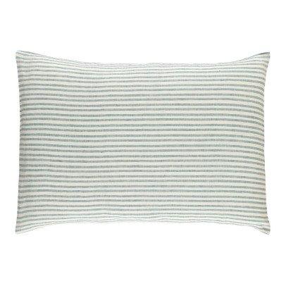Lab Taie d'oreiller en lin Rayé Tricolore 50x70 cm-listing