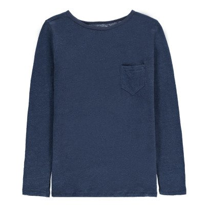 Bonton Camiseta Lino Bolsillo-listing