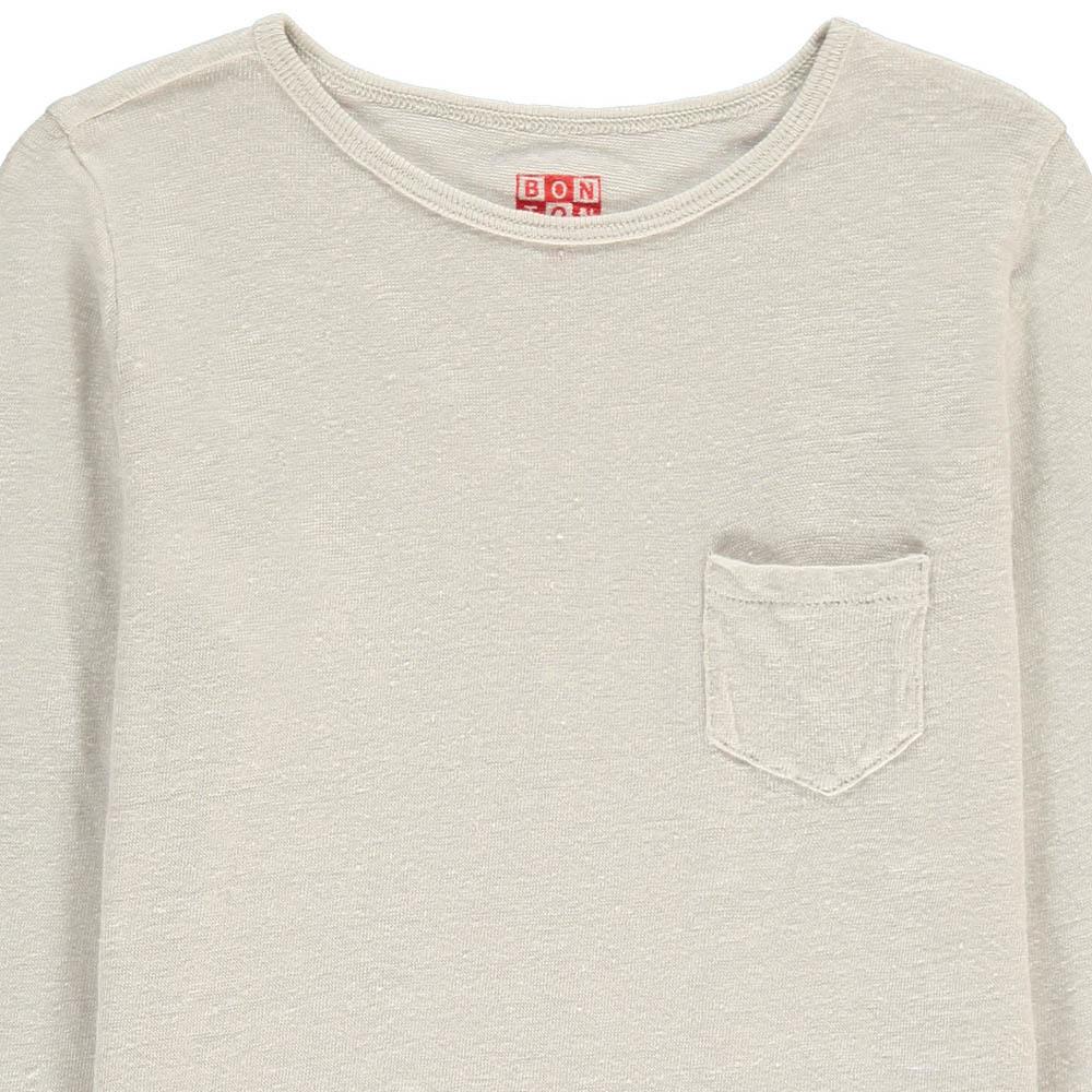 Bonton Linen T-Shirt with Pocket-product