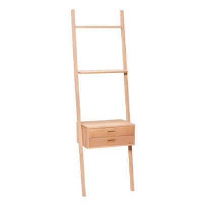 Hübsch Escalera con cajones de madera-listing