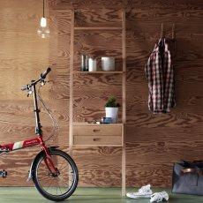 Hübsch Echelle avec tiroirs en bois-listing