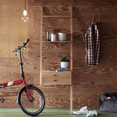 Hübsch Holzleiter mit Schubladen -listing