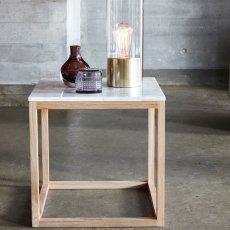 Hübsch Table avec marbre-listing
