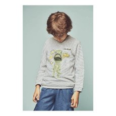 Milk on the Rocks Spike T-Rex Sweatshirt-listing