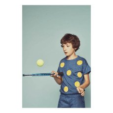 Milk on the Rocks Scoop Tennis Match Short-Sleeved Sweatshirt-listing
