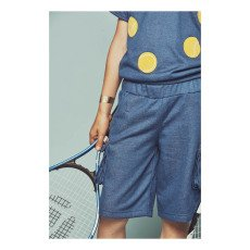 Milk on the Rocks Boris Cargo Sweat Bermuda Shorts-listing