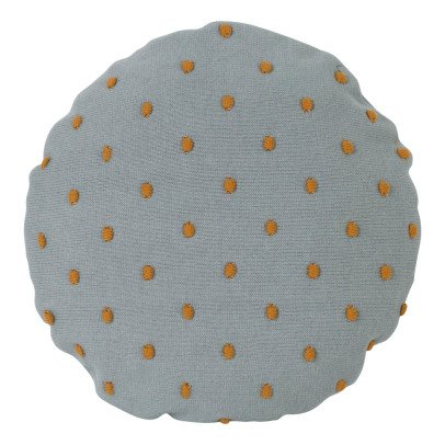 Ferm Living Popcorn Polka Dot Round Cushion-listing