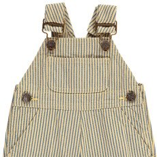 Bonton Icare Striped Dungarees-product