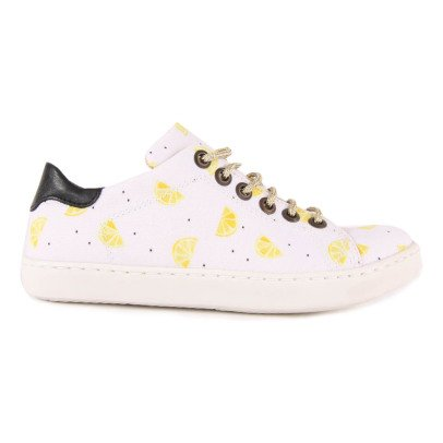 Emile et Ida Baskets Citrons Lacets Lurex Martin-product