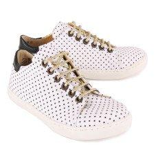 Emile et Ida Sneakers Pois Lacci-listing