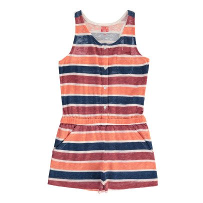 Bonton Striped Playsuit-product
